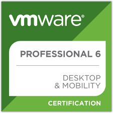 VMware Professional 6 Desktop & Mobility Certification